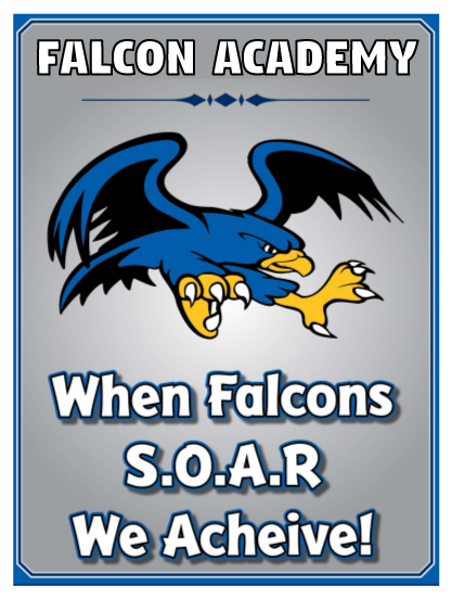 When Falcons S.O.A.R. graphic