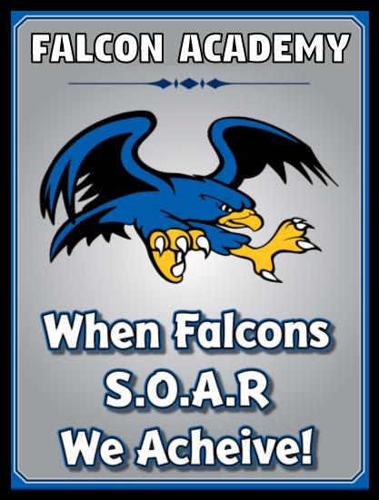 When Falcons S.O.A.R. graphic