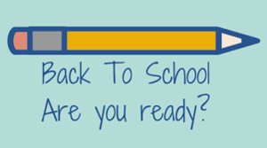 Are you ready for back to school?