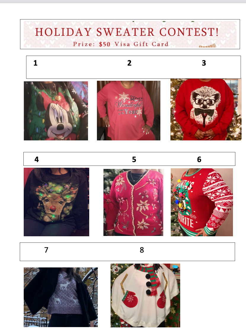 Holiday Contest Submissions