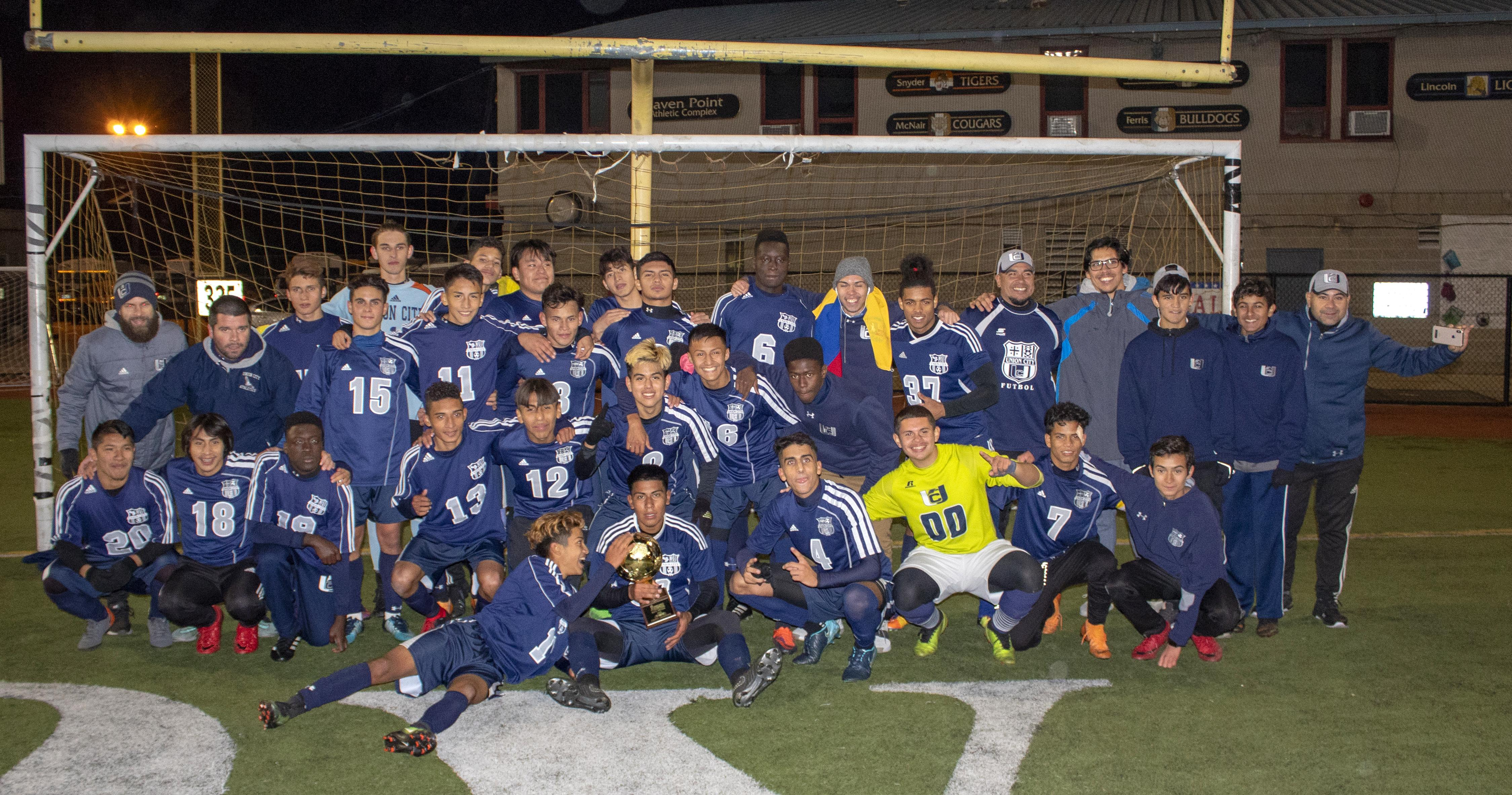 Hudson County Soccer Champions 2018
