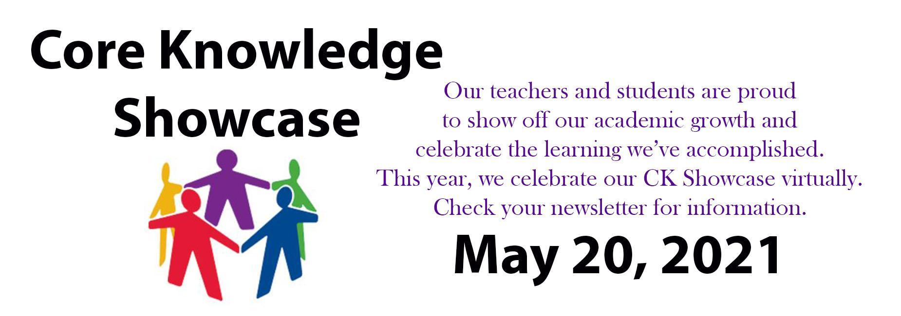 core knowledge showcase, may 20th