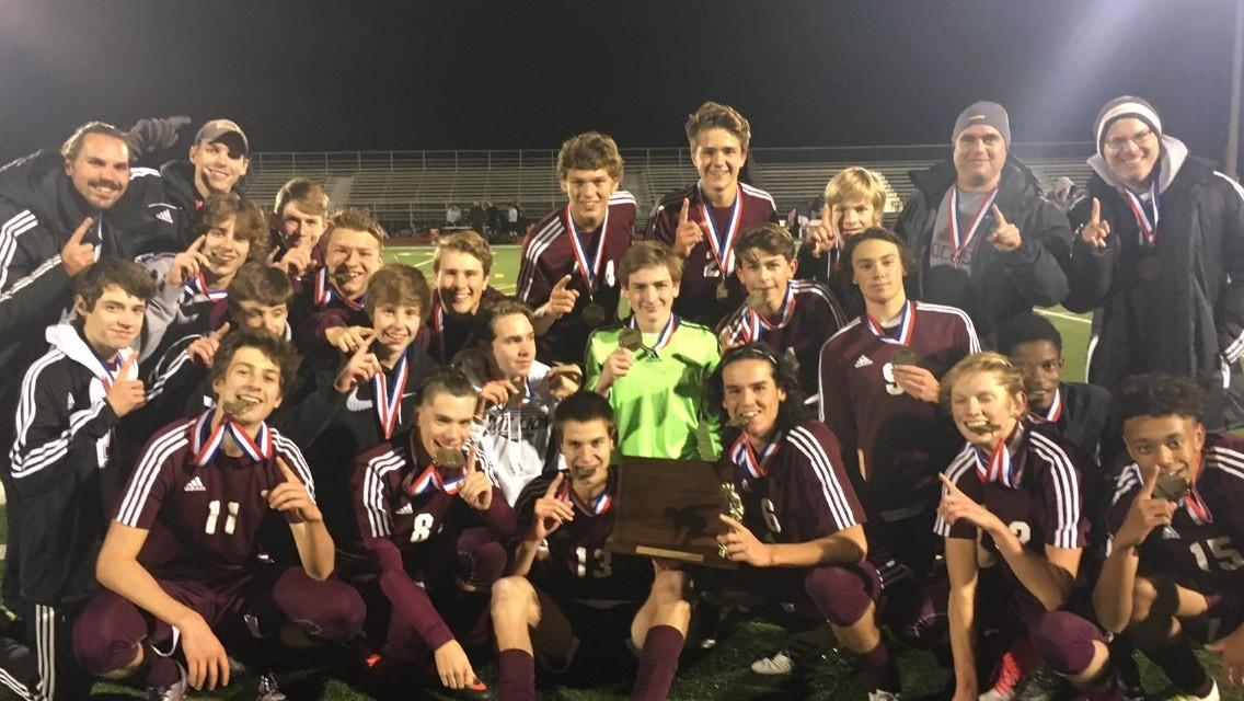 Picture of District 6 Soccer Championship Team