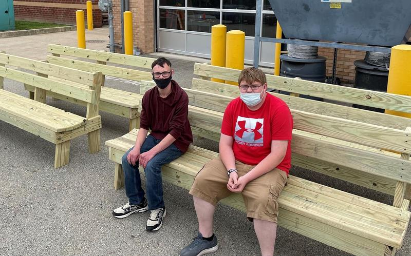 CACTC Students Build Benches for Fayette County Fairgrounds Featured Photo
