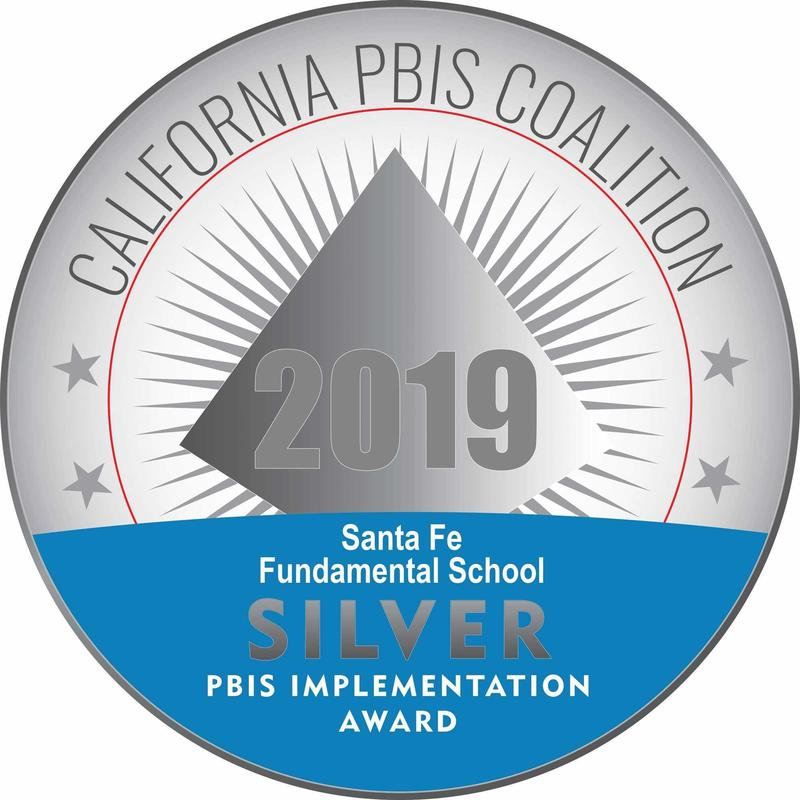 Santa Fe Honored: CA PBIS Recognition Featured Photo