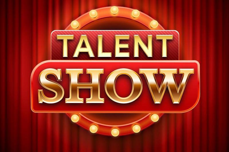 talent show sign