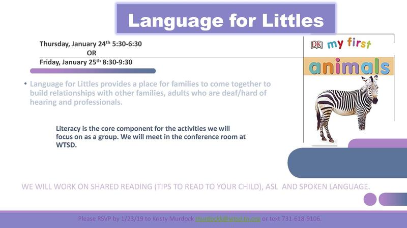 Language for Littles 2019