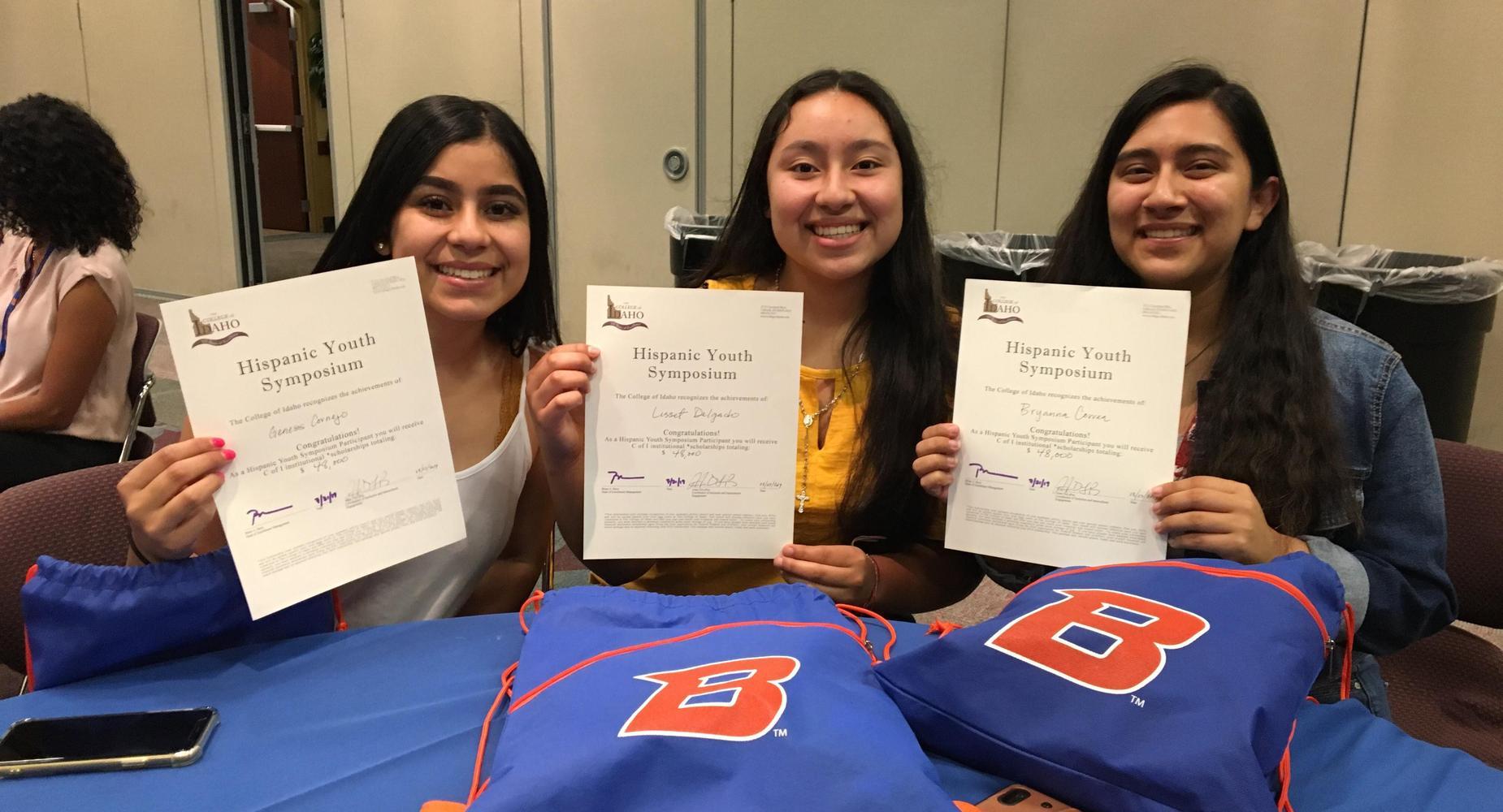 Hispanic Youth Symposium Winners