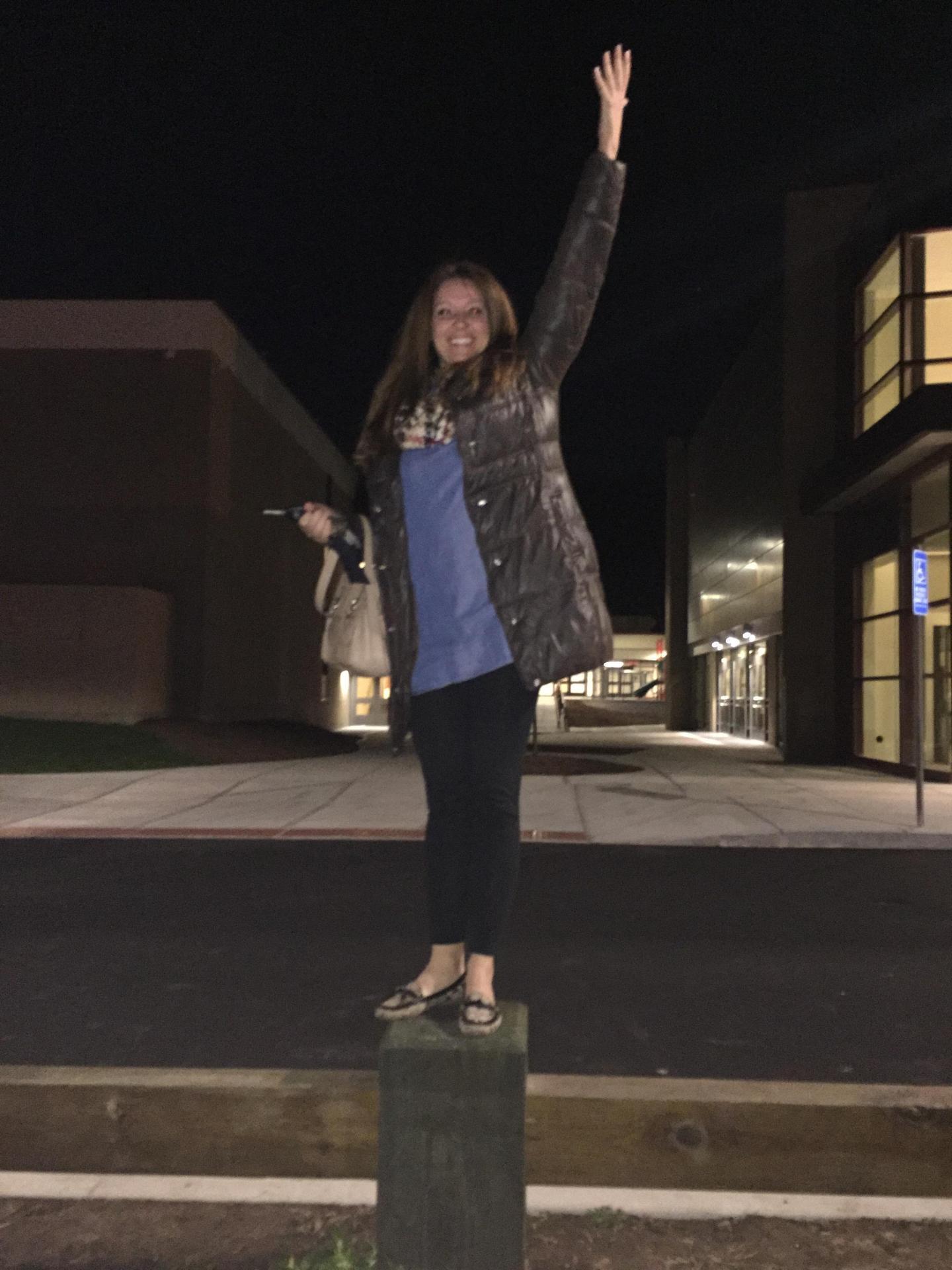 Jill at Naugatuck High School