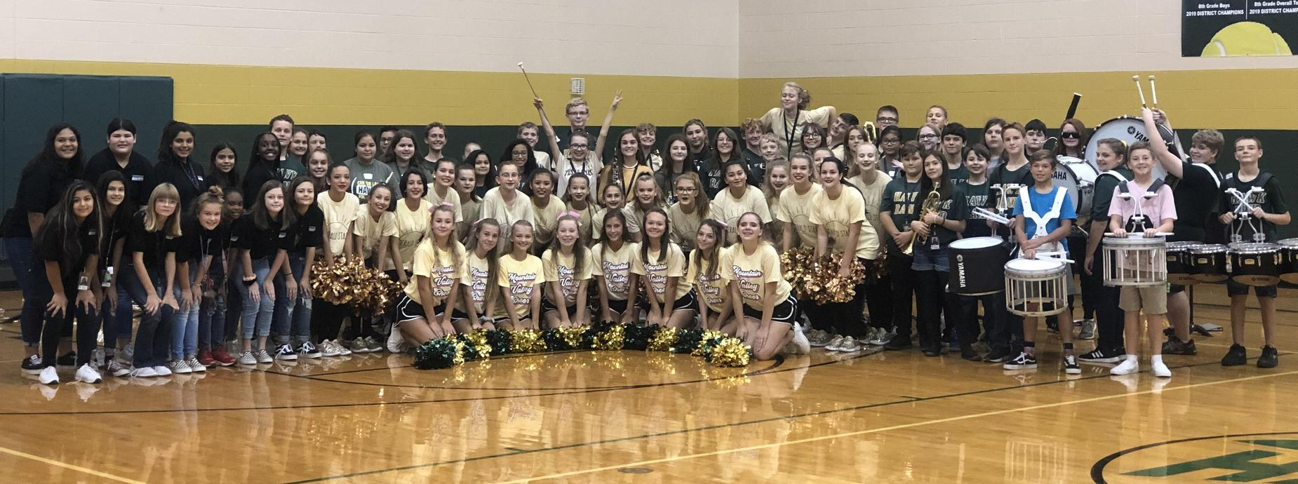 Gold Pep Rally