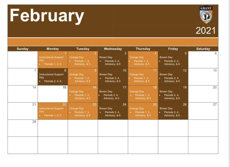Instructional and Weekly Calendars! Featured Photo