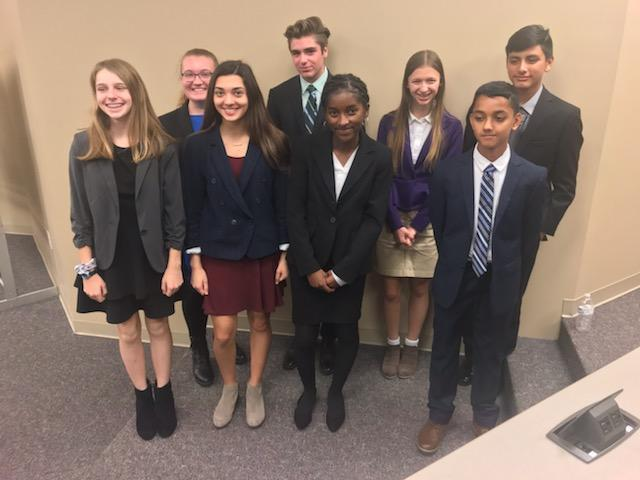 Bradford Prep Mock Trial Team Featured Photo