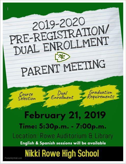 Pre-Registration Dual Enrollment