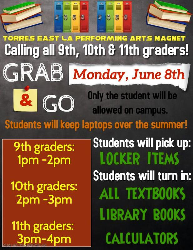 Grab and Go: Calling all 9th, 10th and 11th Graders! Featured Photo
