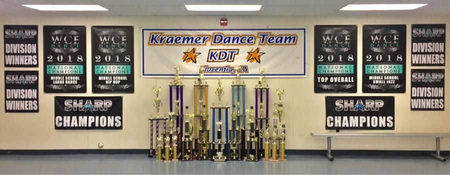 Kraemer Middle School Dance Team