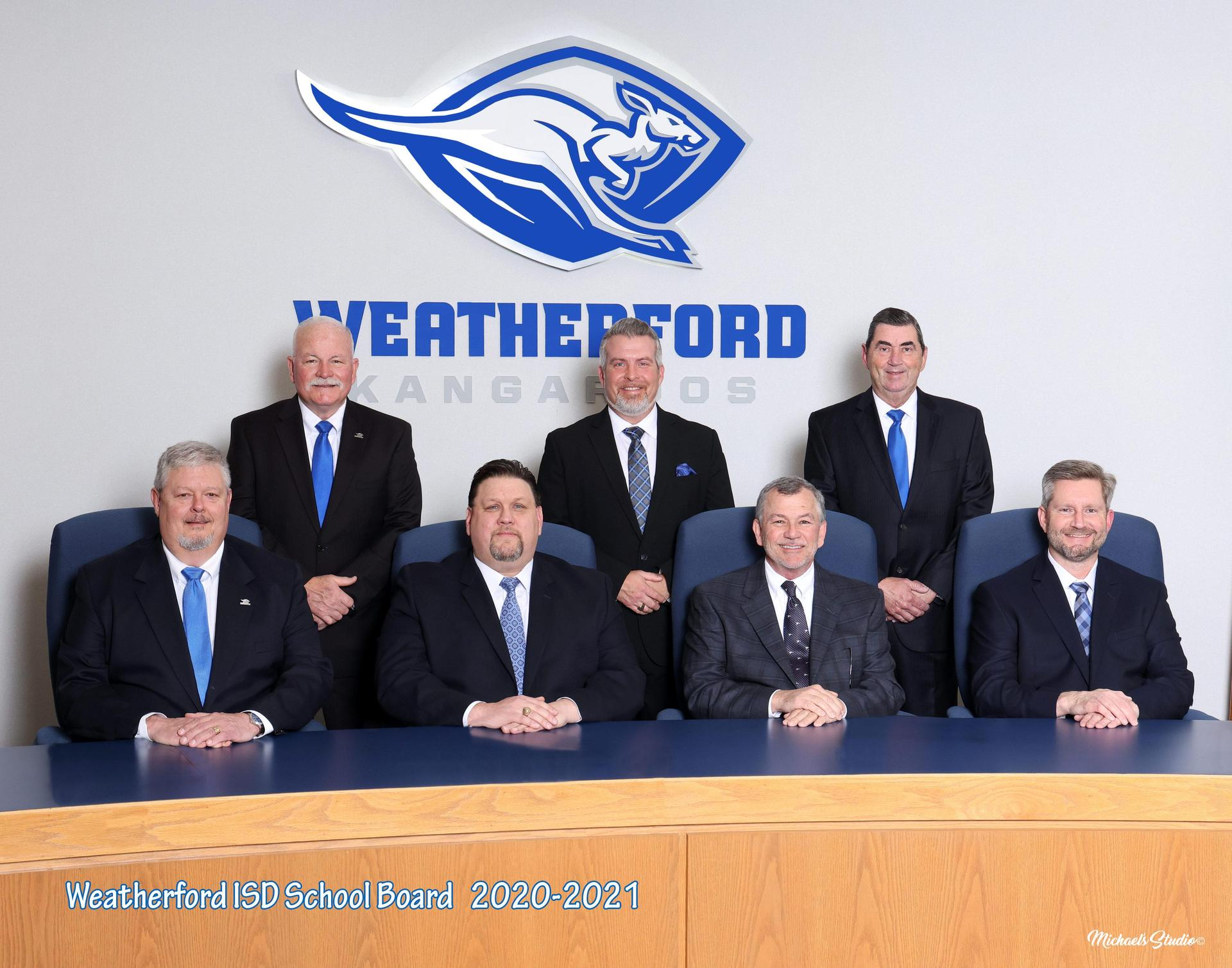 Photo of Weatherford ISD Board of Trustees