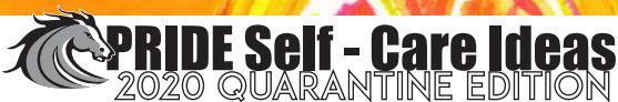 Mustang Pride Self-Care Ideas Thumbnail Image