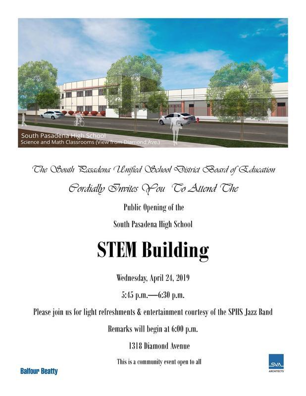 Public Opening Invitation