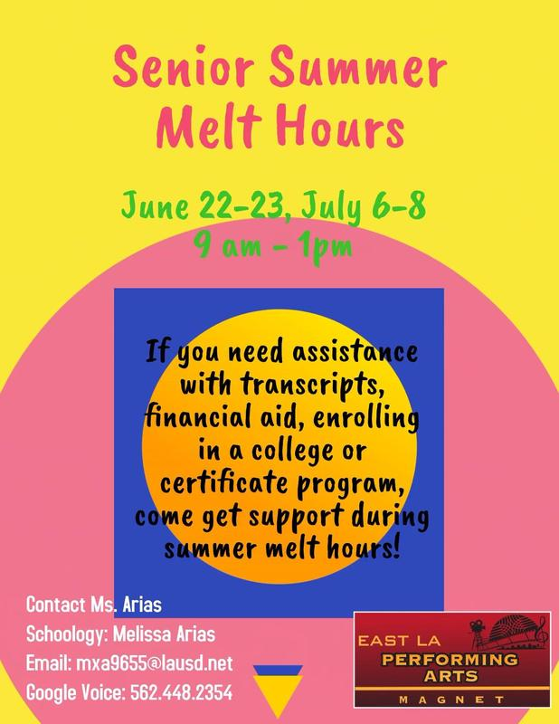 Summer Melt for Graduating Seniors Featured Photo