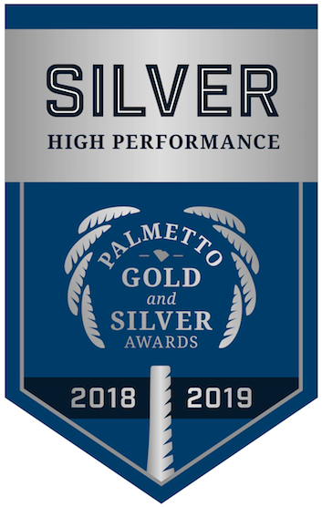 Palmetto Silver Award flag