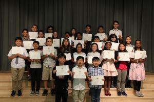 5th Grade Outstanding Achievement Award