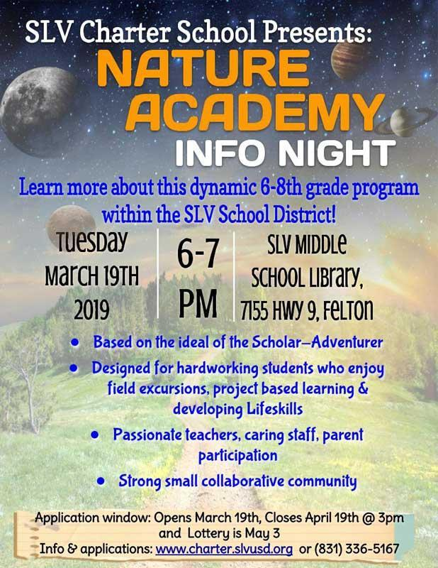 Nature Academy Info Night