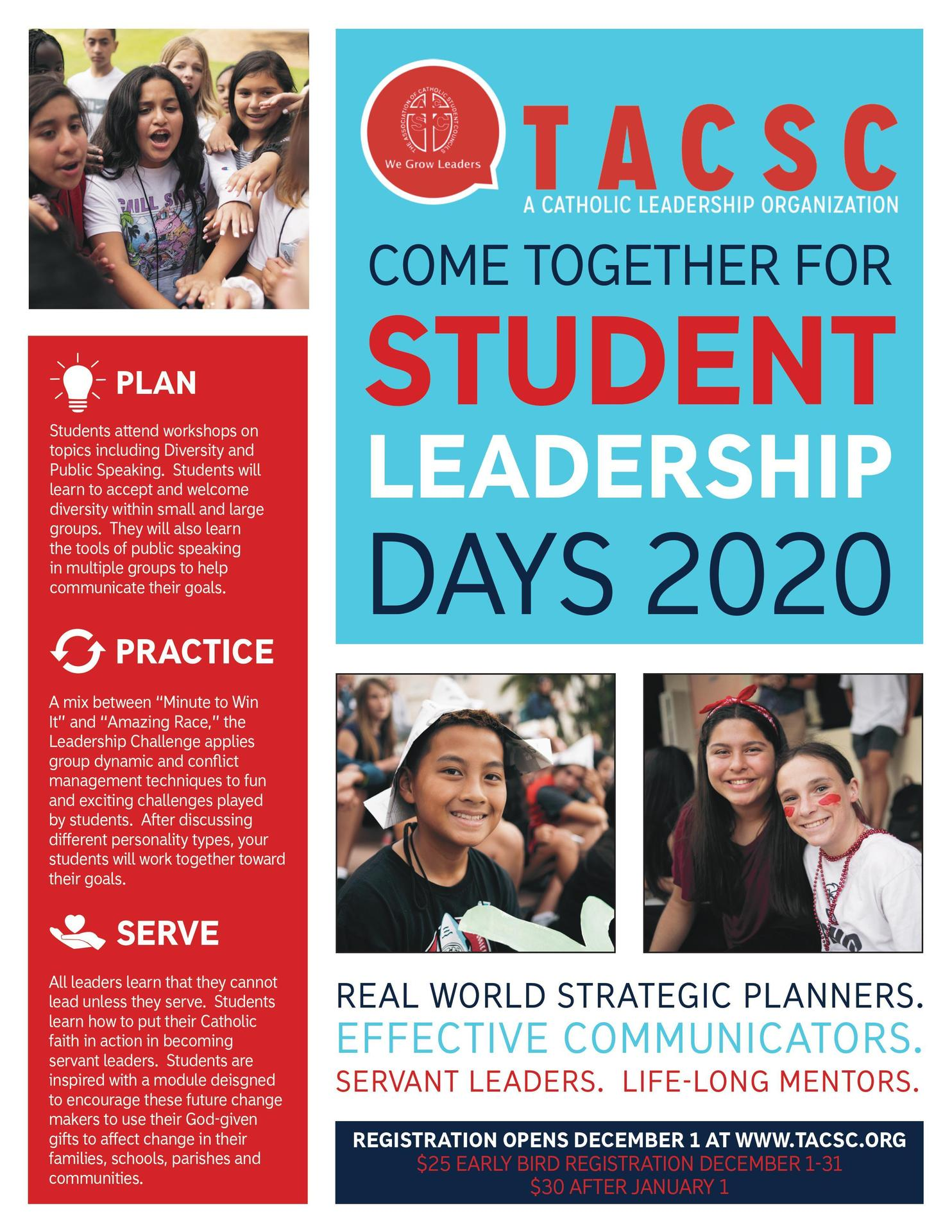 TACSC 2020 Flyer
