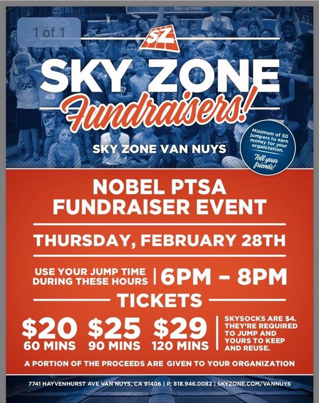 Our Next Family Fun Night... February 28th at Sky Zone in Van Nuys! Featured Photo