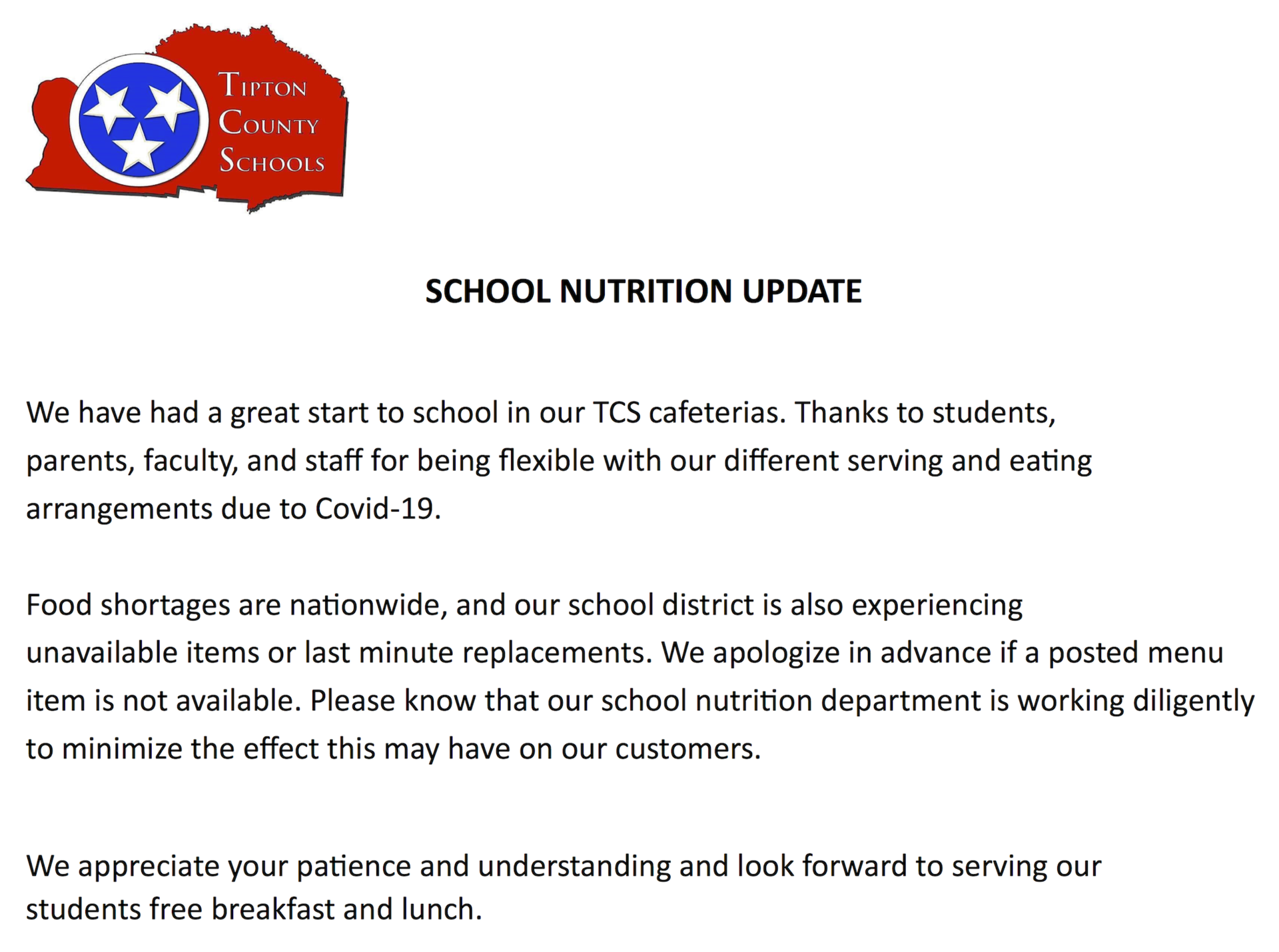 Nutrition Note