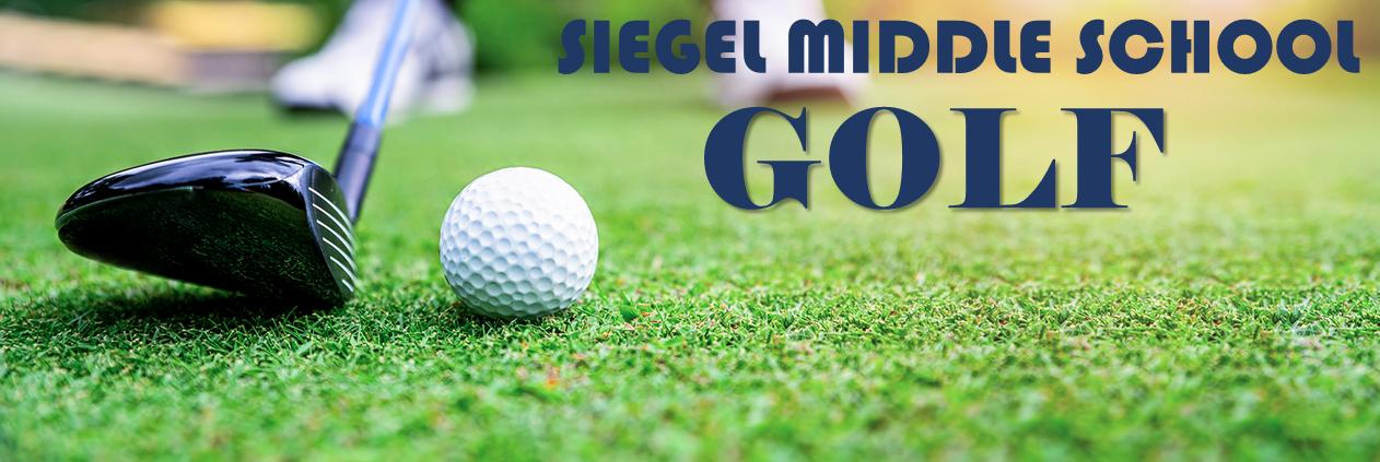 Siegel Middle School Golf