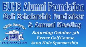 EUHS Alumni Foundation Golf Scholarship Fundraiser 2019- header only.JPG