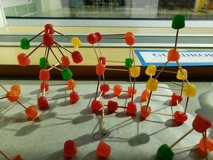 gum ball molecular structures