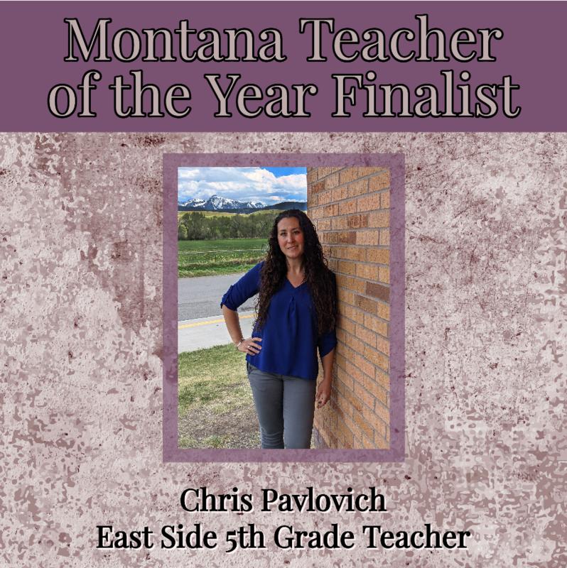 Chris Pavlovich Montana Teacher of the Year Finalist