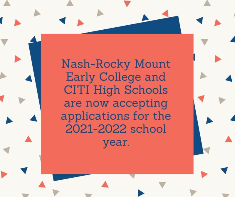 ECHS and CITI High Applications