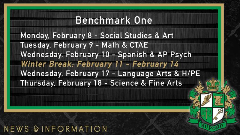 Benchmark Schedule Featured Photo