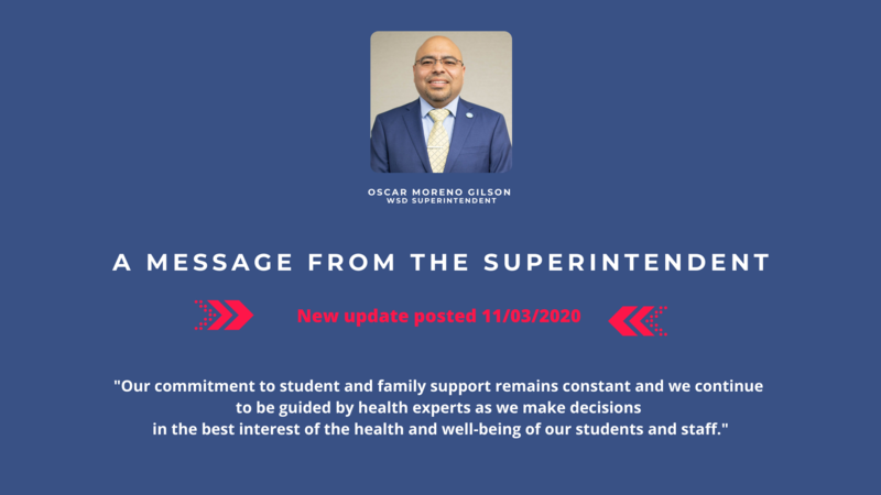 A Message for the Superintendent