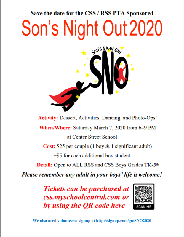 Son's Night Out Featured Photo