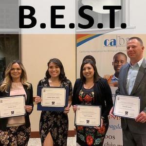 BEST Award Recipients