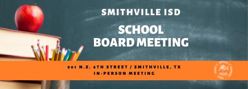 SISD School Board Meeting Information