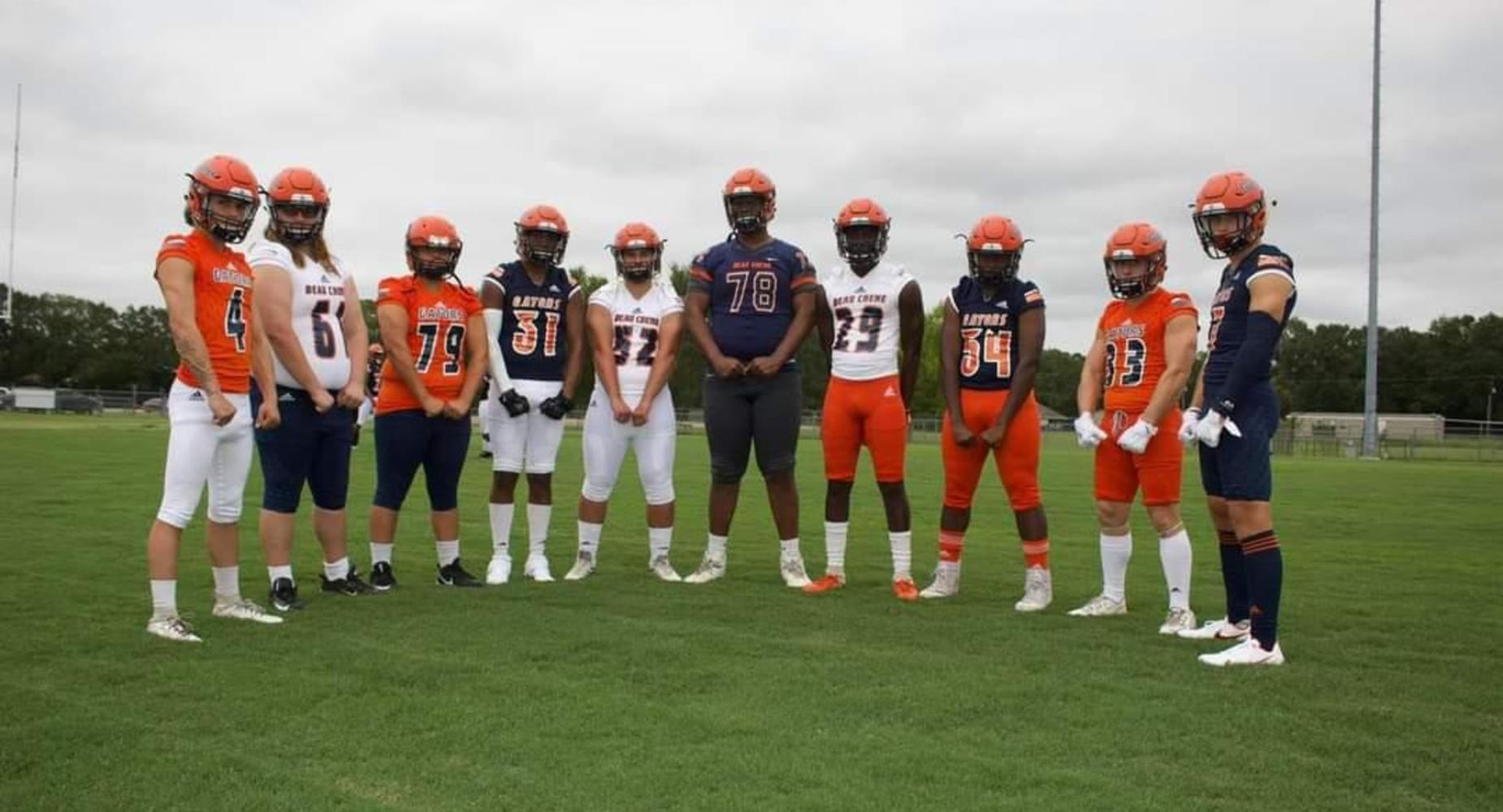 BCHS Football Team - 2020-2021