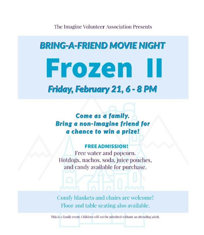 Movie Night - Friday, February 21st at 6:00 PM! Featured Photo