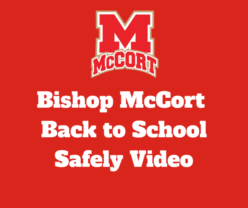 Bishop McCort Back to School Safely Thumbnail Image