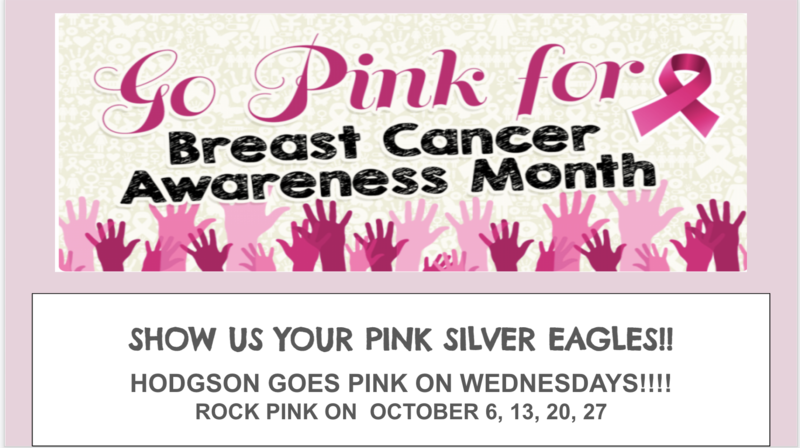 Go Pink for Breast Cancer Awareness!