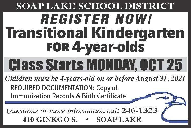 Register Now! Transitional Kindergarten for 4-Year-Olds. Thumbnail Image