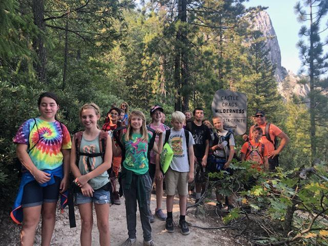 6th Graders at Castle Craigs Fall 2018