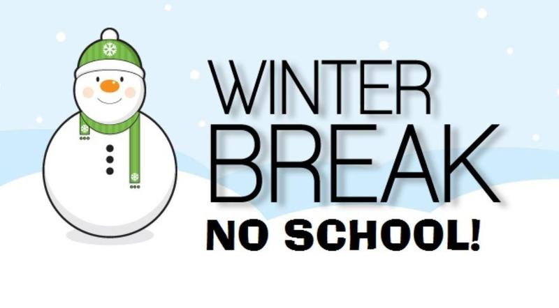 Winter Break December 24-January 7, 2019. Featured Photo