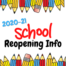reopening info