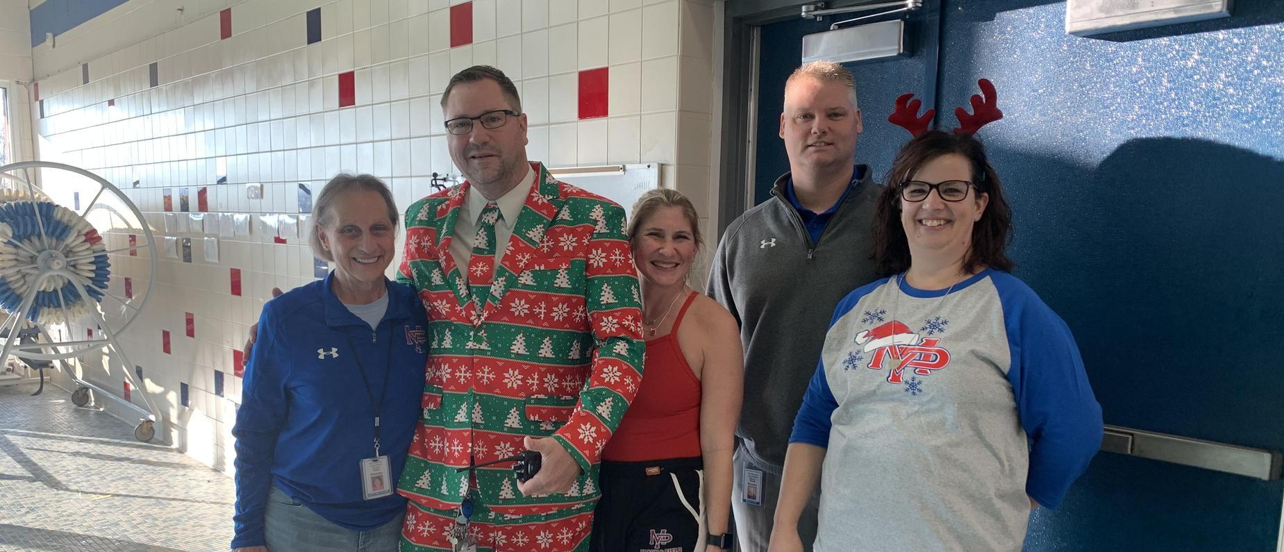 Christmas employees