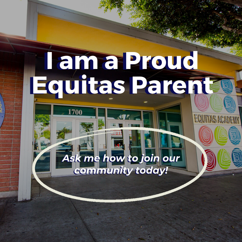 I am a proud Equitas parent