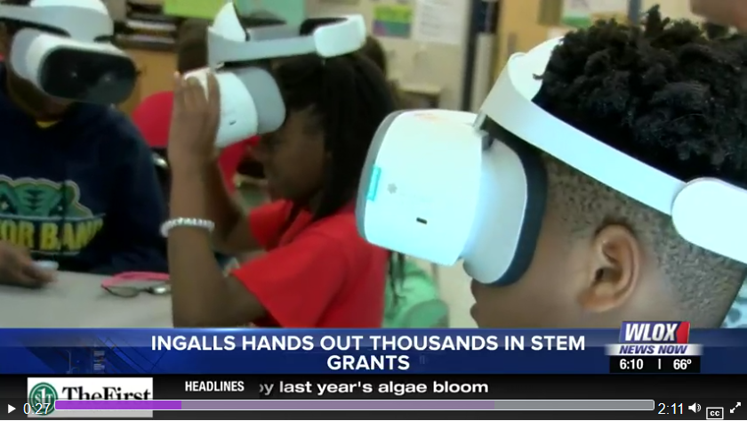 Ingalls awards thousands of dollars to fund STEM projects